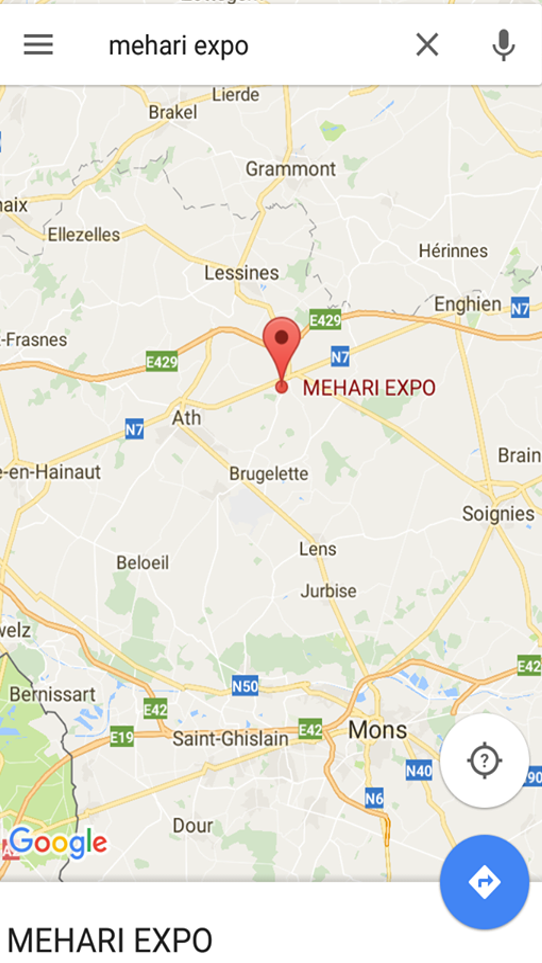 GOOGLE MAP MEHARI EXPO