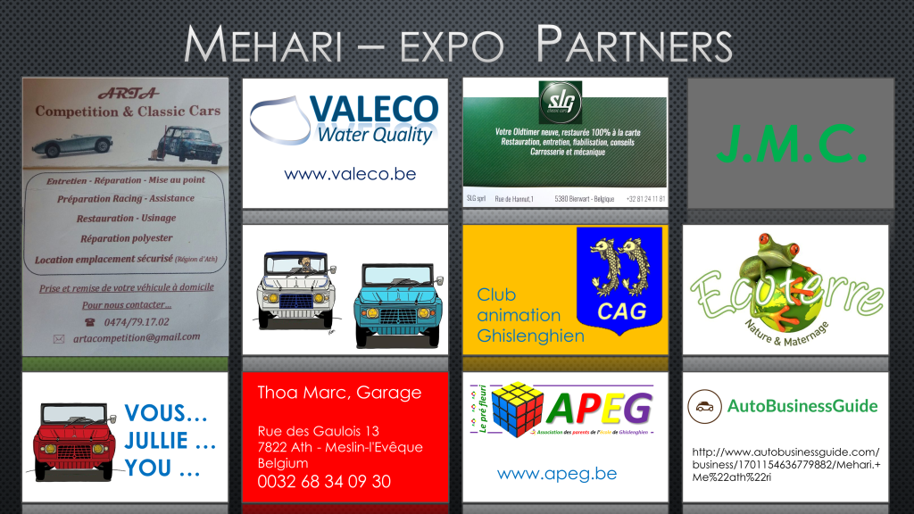 mehari expo partner